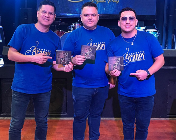 SEPTETO ACAREY EMOCIONADOS POR LATIN GRAMMY [VIDEO]
