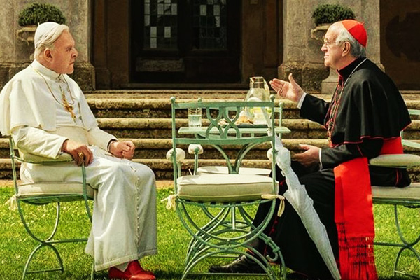"NETFLIX LANZA TRÁILER OFICIAL DE LA PELÍCULA ""THE TWO POPES"" [VIDEO]"